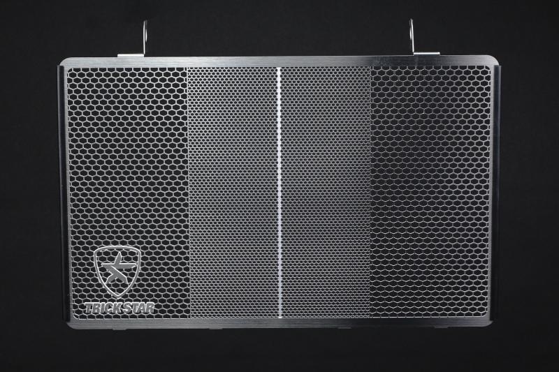 TRICK STAR トリックスター ラジエターコアガード 表面仕上げ:ブラックメッキ ZRX1200DAEG