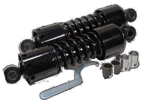 ガレージT&F リアサスペンション ツインサスペンション カラー(仕上げ):ブラック ドラッグスター 250