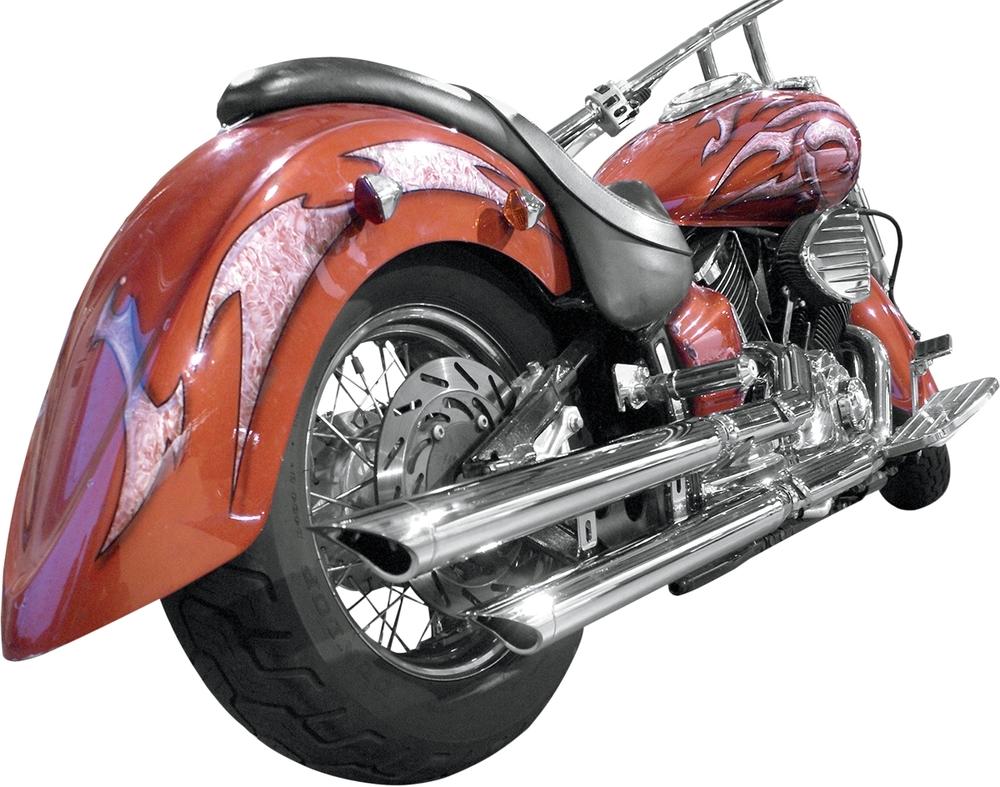 BARON バロン フルエキゾーストマフラー スリップオンマフラー VSTAR1100 【MUFFLERS VSTAR1100 [1811-1780]】 XVS1100 V-Star Custom XVS1100A V-Star Classic