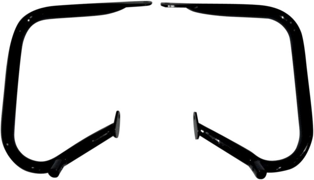 Drag Specialties ドラッグスペシャリティーズ ガード・スライダー ガードリア バッグ 97-08 FLT ブラック 【GUARD RR BAG 97-08 FLT BK [0506-0513]】