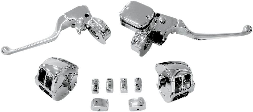 Drag Specialties ドラッグスペシャリティーズ レバー ハンドルバーコントロール 11-14 ST 【CONTROLS HB 11-14 ST [0610-0533]】