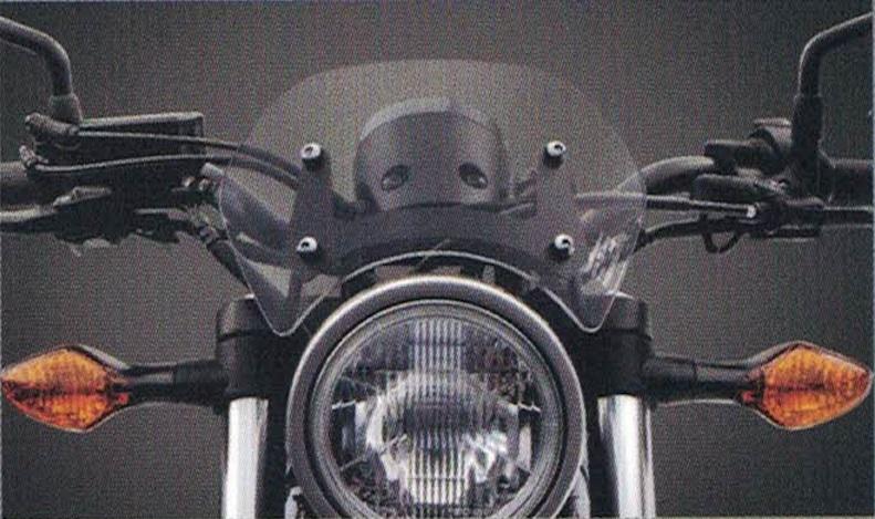 H2C エイチツーシー メーターバイザーキット REBEL 300 REBEL 250