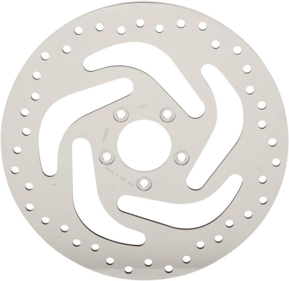 Drag Specialties ドラッグスペシャリティーズ ディスクローター フロントブレーキローター ポリッシュ ST 2015-17 【ROTOR BRK FR POL ST15-17 [1710-3048]】