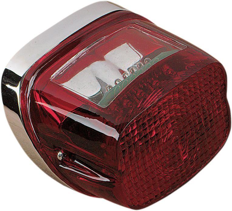 Drag Specialties ドラッグスペシャリティーズ ホイール本体 純正タイプ LED テールランプ 73-98用 【73-98 OEM LED TAILLIGHT [DS280457]】