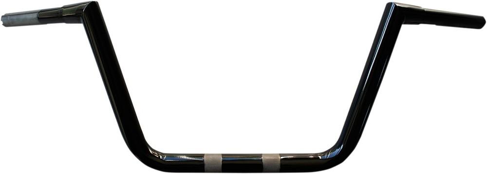 LA CHOPPERS エルエーチョッパーズ ハンドルバー TWIN PEAKS HEFTYモデル 10 ブラック 【HANDLEBAR TPKS HFTY 10 BK [0601-3362]】
