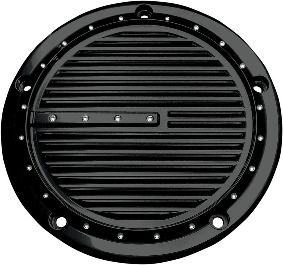 COVINGTONS コビングトン ダービーカバー ディンプル ブラック 2016-2017用【COVER DERBY 16-17 DIMP BK [1107-0490]】