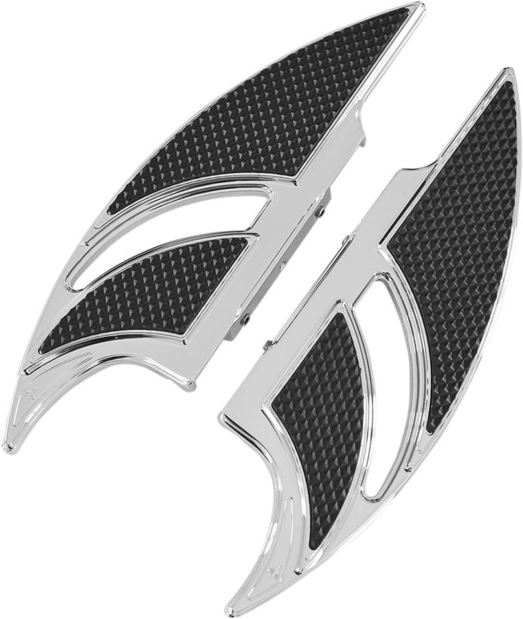 CARL BROUHARD DESIGNS カールブラウハードデザイン リアフットボード ELITEモデル クローム 【FLOORBOARD RR ELITE CH [1621-0592]】