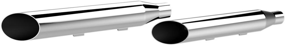 KHROME WERKS クロームワークス スリップオンマフラー クローム S/C 14-17 XL用【MUFFLER S/C 14-17 XL CHR】