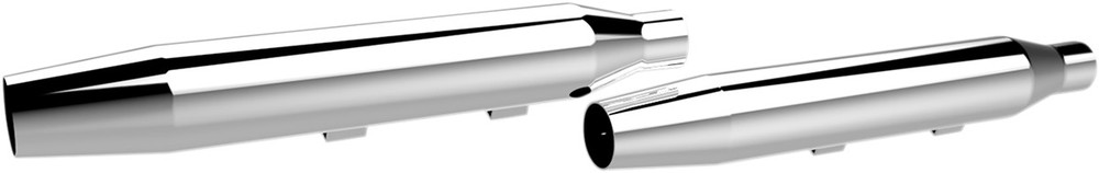 代引き人気 KHROME WERKS クロームワークス スリップオンマフラー テーパー クローム XL 2014-17用 MUFFLER TPR 14-17 XL CH, 靴下の三笠 dc93708d