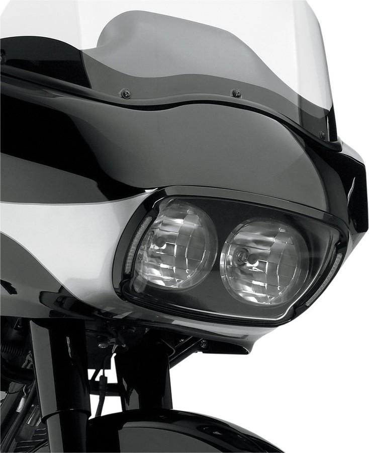 CYCLE VISIONS サイクルビジョン ヘッドライト本体・ライトリム/ケース ヘッドライトベゼル ブラック/クリア FLTR 【ILLUMABEZEL,BLK/CLR FLTR [2001-0132]】