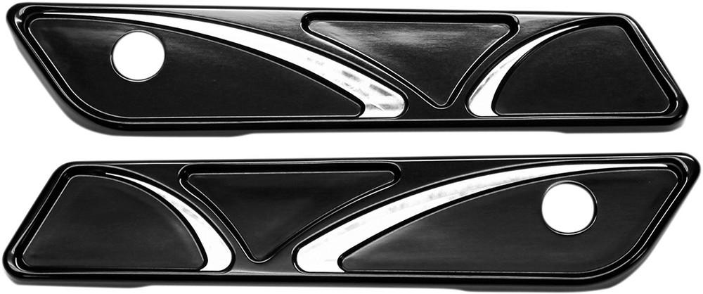 CARL BROUHARD DESIGNS カールブラウハードデザイン その他外装関連パーツ ヒンジカバー スピロ 14+ FL ブラック 【HINGE CVR SPR 14+ FL BLK [3501-1189]】
