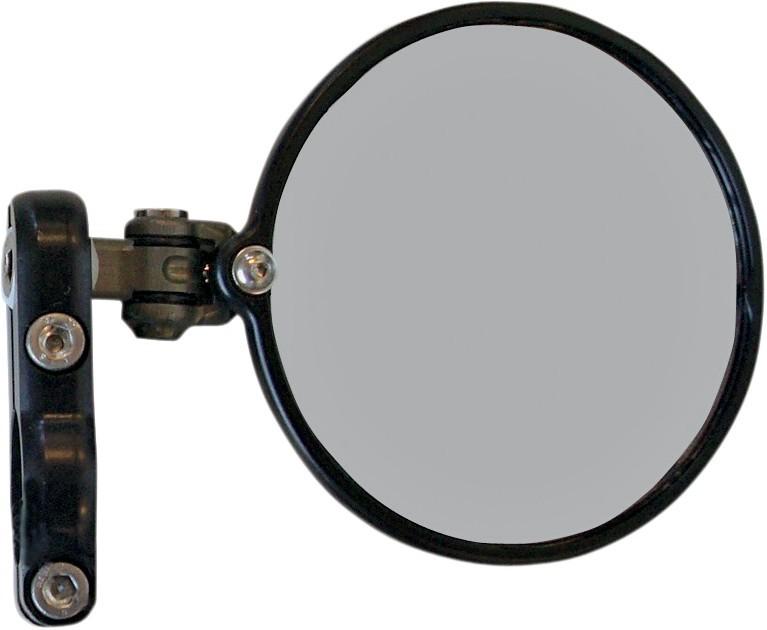 CRG シーアルージー ミラー類 バーエンドミラー HINDSIGHT LSモデル 右側 【MIRROR HINDSIGHT LS R [0640-0521]】