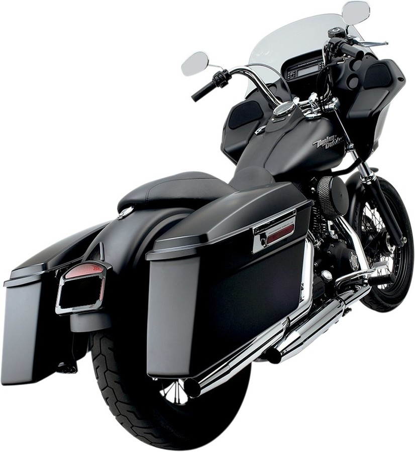 CYCLE VISIONS サイクルビジョン バガーテイル06-17 FXD ブラック 【BAGGER TAIL 06-17 FXD BLK [3501-0626]】