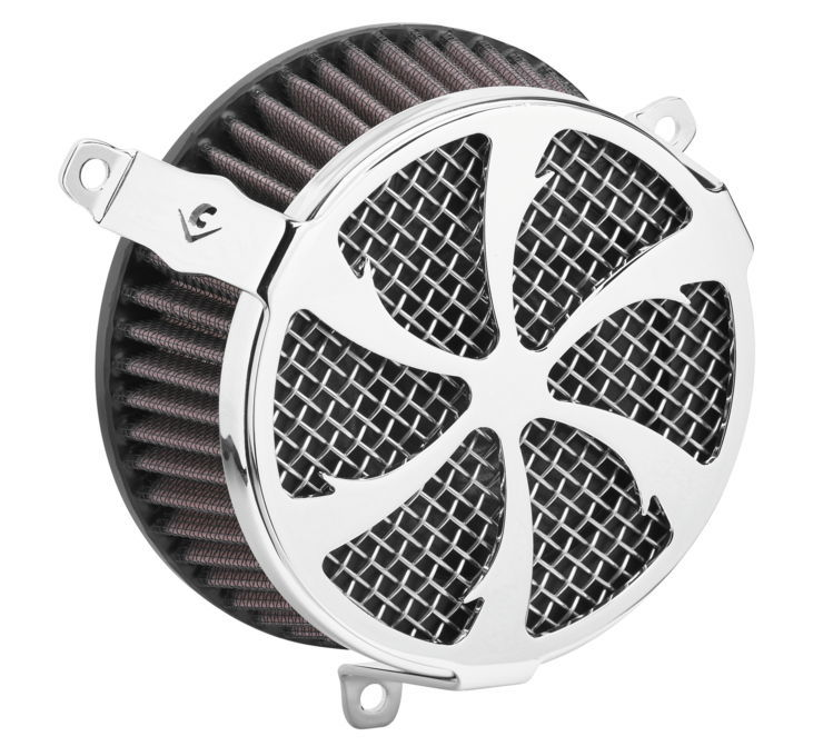 COBRA コブラ エアクリーナー・エアエレメント エアクリーナー V-TWIN【Air Cleaners for V-Twin】 Color:Chrome [631131]
