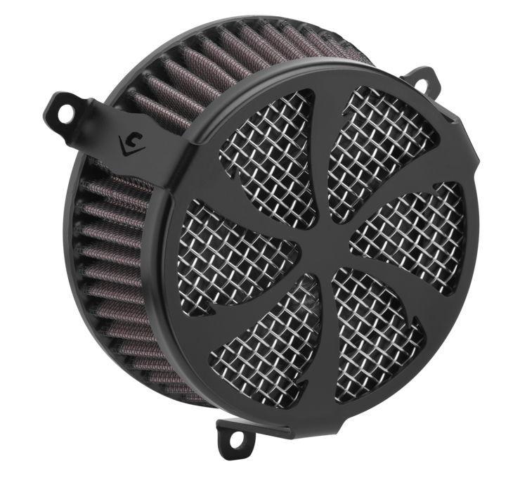 COBRA コブラ エアクリーナー・エアエレメント エアクリーナー V-TWIN【Air Cleaners for V-Twin】 Color:Black [631132]