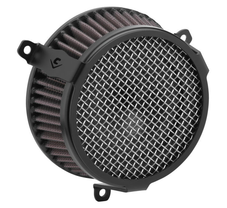 COBRA コブラ エアクリーナー・エアエレメント エアクリーナー V-TWIN【Air Cleaners for V-Twin】 Color:Black [633003]