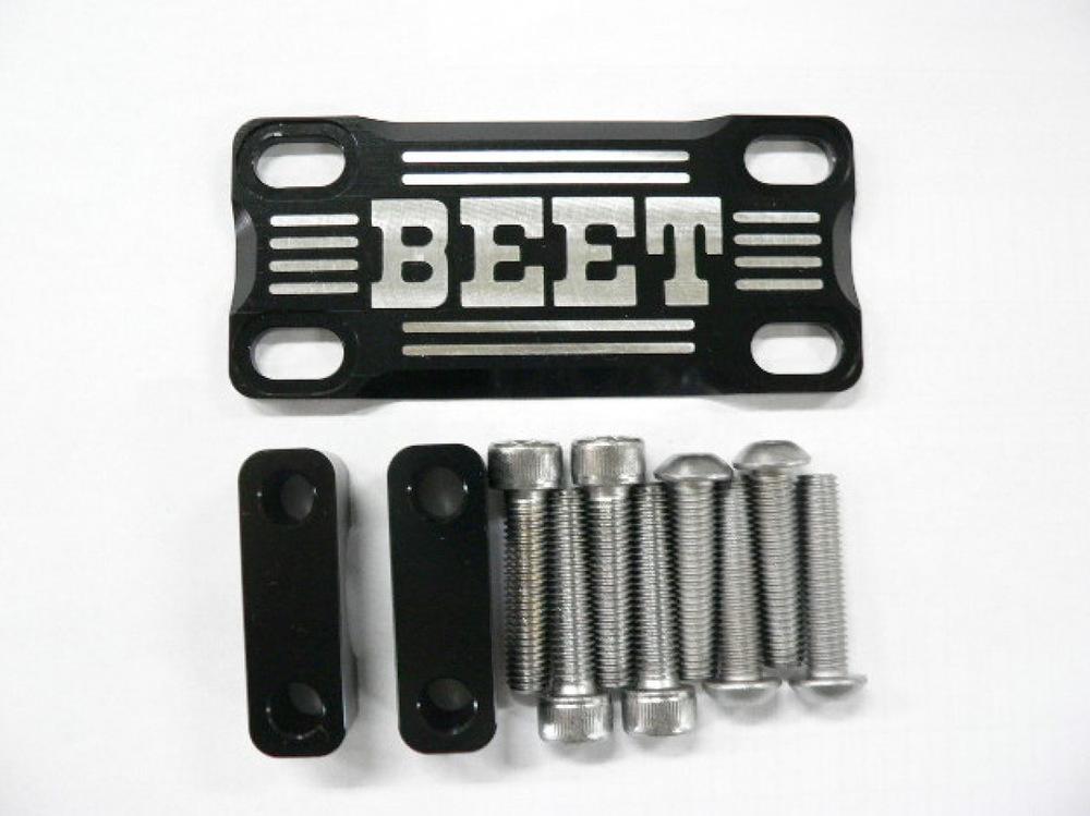 BEET ビート その他ハンドルパーツ ハンドルブレースキット カラー:ブラック/ブラック 汎用