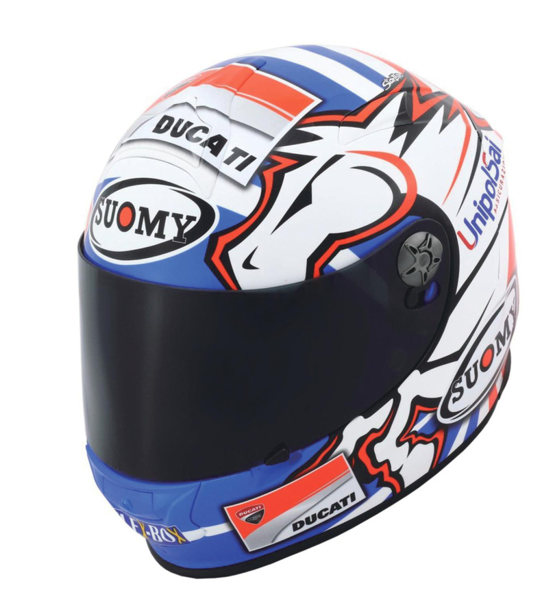 SUOMY スオーミー フルフェイスヘルメット SR-SPORT ドヴィジオーゾGP DUCATI ヘルメット サイズ:XL(61-62)