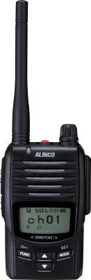 TRUSCO トラスコ中山 工業用品 アルインコ デジタル登録局無線機5W(RALCWI)大容量バッテリーセット