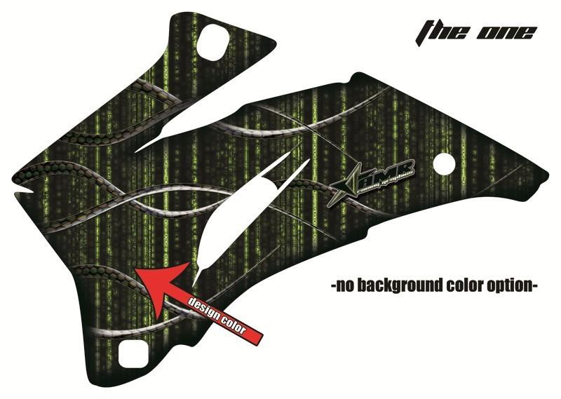 AMRエーエムアール 2020A/W新作送料無料 ステッカーデカール お気に入 AMR グラフィックデカール エーエムアール KLX125 シュラウドキット