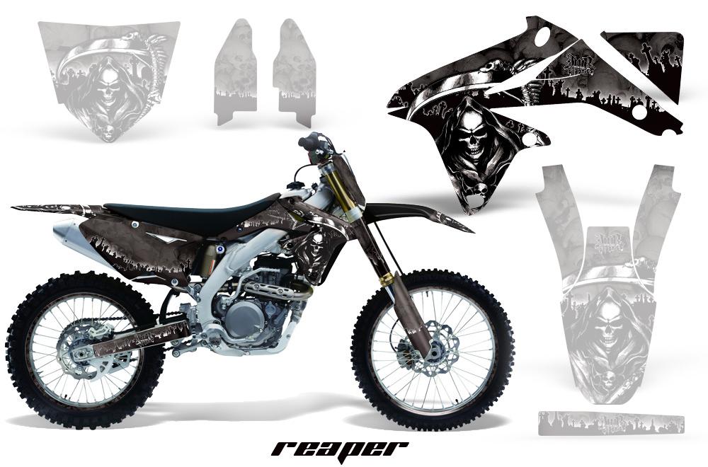 エーエムアール ステッカー・デカール AMR グラフィックデカール (シュラウドキット) グラフィックカラー:ホワイト XR250MOTARD