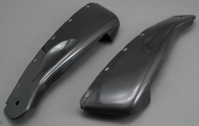 A-TECH エーテック Aテック サイドカバー ハーフサイドカウル 素材:FRP/黒 ZZR1100C