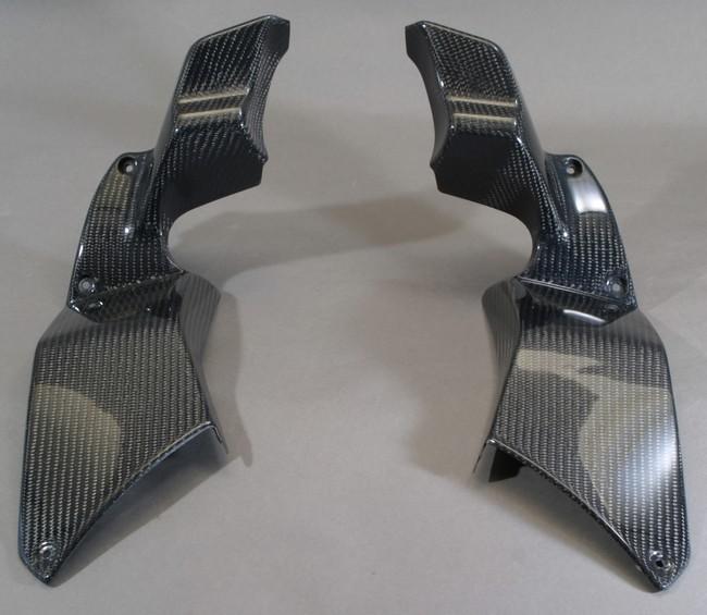 A-TECH エーテック Aテック アッパーカウルインナー 素材:カーボンケブラー ZZR1400GTR 08-09