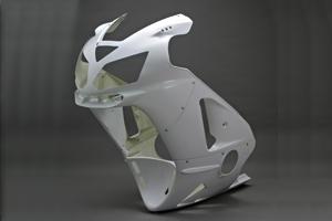 A-TECH エーテック Aテック フルカウル・セット外装 ストリート用フルカウル ノーマル 素材:FRP/白ゲル仕上げ ZX-12R 02-06