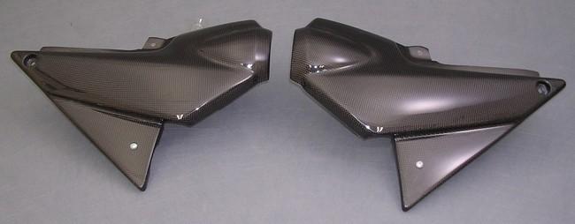 A-TECH エーテック Aテック サイドカバーセット 素材:カーボンケブラー XJR1300 98-99