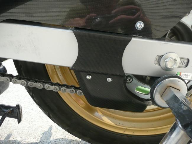 A-TECH エーテック Aテック その他外装関連パーツ ドライブチェーンガード 素材:ドライカーボン VTR250 97-
