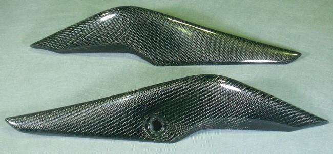 A-TECH エーテック Aテック シートカウル 素材:綾織カーボン 左右セット CBR250R 11-13
