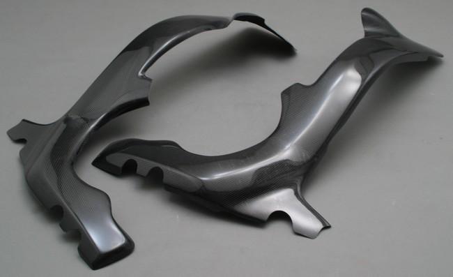 A-TECH エーテック Aテック フレームカバー フレームヒートガード 素材:カーボンケブラー(右側) CBR1000RR