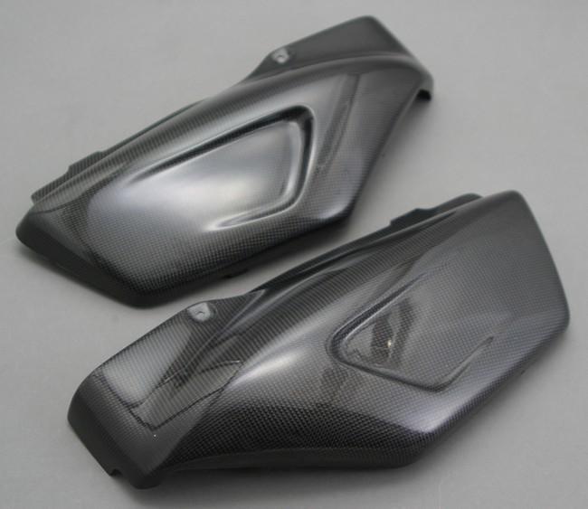 A-TECH エーテック Aテック サイドカバー 素材:綾織カーボン X-4 97-03