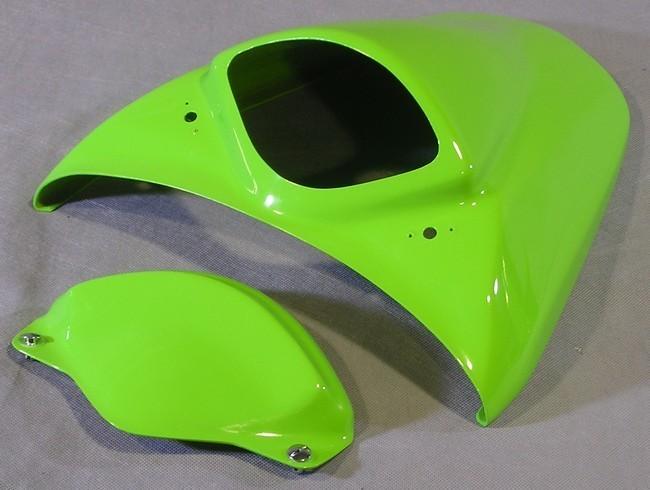 A-TECH エーテック Aテック シートカウル タンデムシートカバー 素材:平織カーボン NINJA400R 10-13