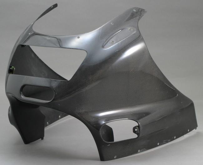 A-TECH エーテック Aテック アッパーカウルスタンダード 素材:綾織カーボン ZZR1100C
