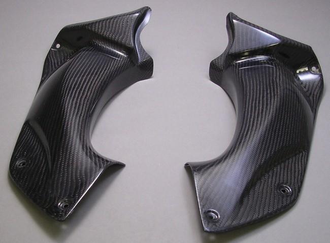 A-TECH エーテック Aテック アッパーカウルインナー 素材:平織カーボン(左側) ZZR1400 06-11