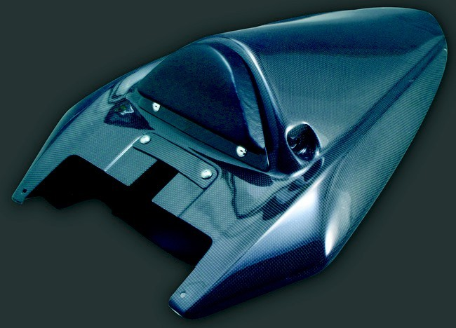 A-TECH エーテック Aテック シートカウル 素材:FRP/黒 ZX-10R 04-05