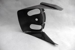 【イベント開催中!】 A-TECH エーテック Aテック ラジエーター関連部品 ラジエターシュラウド STD 素材:FRP/ホワイト ZX-10R