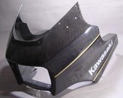 A-TECH エーテック Aテック アッパーカウル ハーフカウル 素材:カーボンケブラー ZRX1200 DAEG 09-16