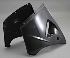 A-TECH エーテック Aテック サイドカバー ハーフサイドカウル 素材:カーボンケブラー(左側) ZX-12R 02-06