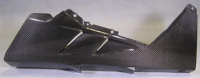 A-TECH エーテック Aテック アンダーカウル 素材:ドライカーボン/塗装済(クリアー) 10- F4