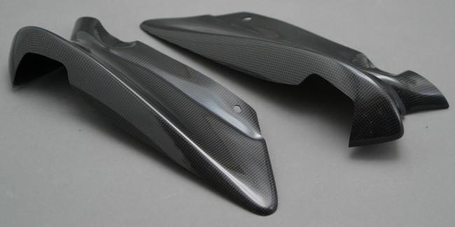 A-TECH エーテック Aテック サイドカバー ハーフサイドカウル 素材:FRP/白(左側) FZS1000フェザー 01-05