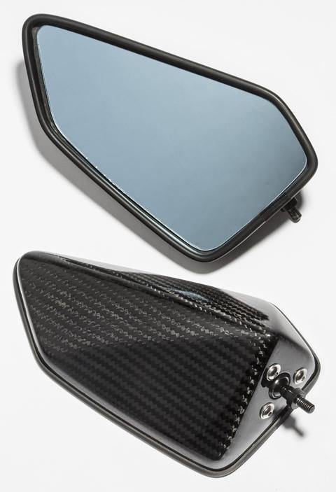 A-TECH エーテック Aテック ミラー類 フルアジャスタブル ドライカーボンミラー シャフト素材:アルミ タイプ:4 (綾織ドライカーボン) ZX-10R