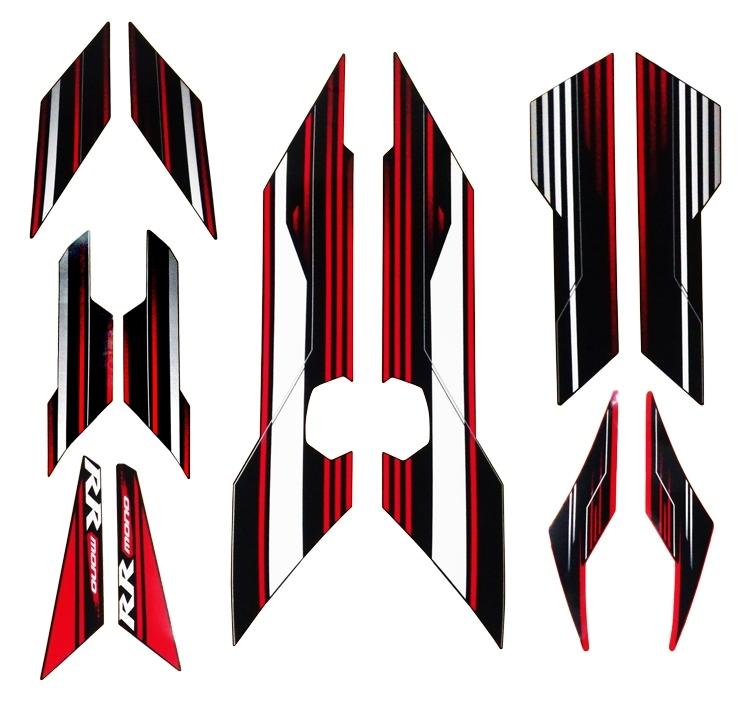 【ポイント5倍開催中!!】【クーポンが使える!】 K's-STYLE ケイズスタイル ステッカー・デカール デカールキット カラー:レッド Ninja250SL (15-)