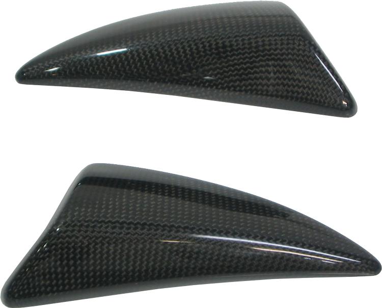 K's-STYLE ケイズスタイル その他外装関連パーツ ナックルプロテクター カラー:カーボン (CFRP) Ninja650R (09-11),Ninja400R (11-13)