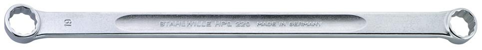 STAHLWILLE スタビレー ミリ(めがねレンチ) ロングメガネレンチ (HPQ) サイズ (mm):13x14
