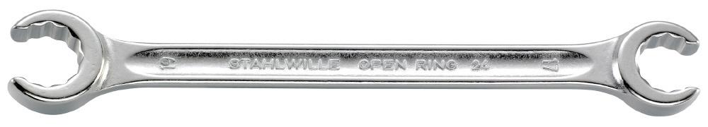 STAHLWILLE スタビレー ミリサイズ(スパナ) オープンリングスパナ サイズ (mm):24x27