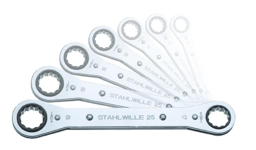STAHLWILLE スタビレー セット工具 板ラチェットメガネセット (96415602)
