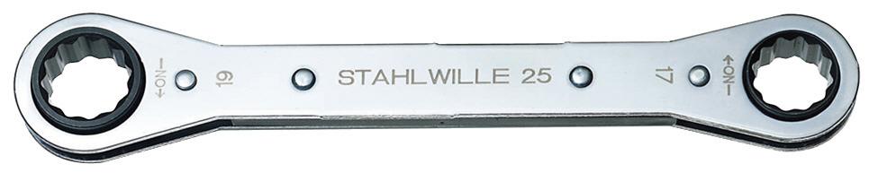STAHLWILLE スタビレー 板ラチェットメガネ