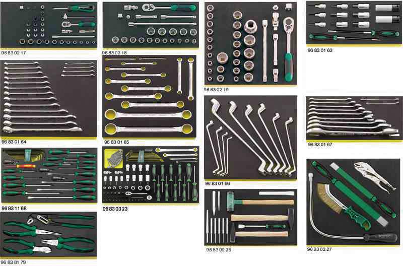 STAHLWILLE スタビレー メルセデスベンツ用工具セット (97830008)